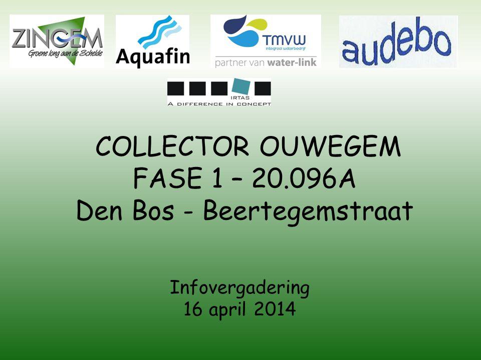 COLLECTOR OUWEGEM FASE 1 – 20.096A Den Bos - Beertegemstraat