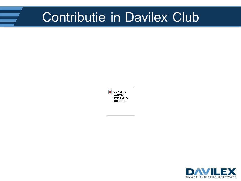 Contributie in Davilex Club
