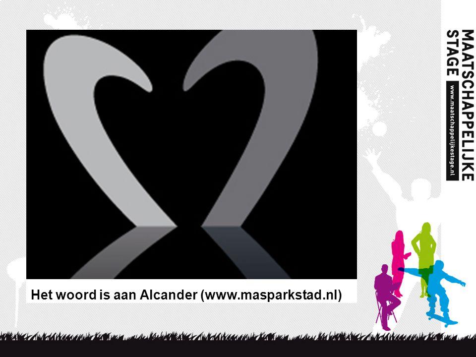 Het woord is aan Alcander (www.masparkstad.nl)