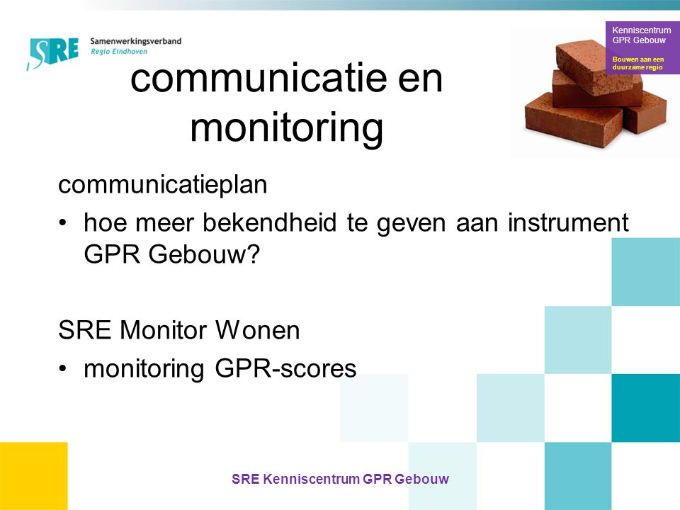 communicatie en monitoring