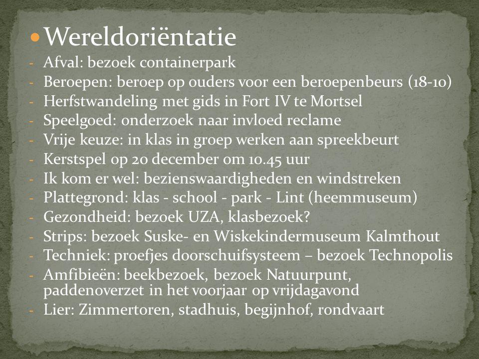 Wereldoriëntatie Afval: bezoek containerpark
