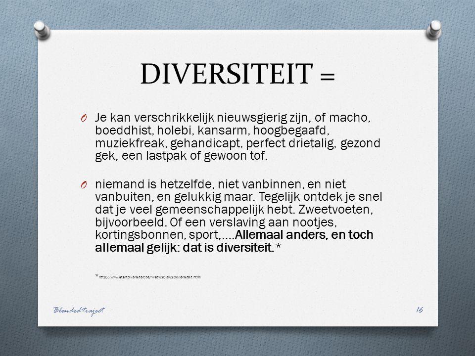 DIVERSITEIT =