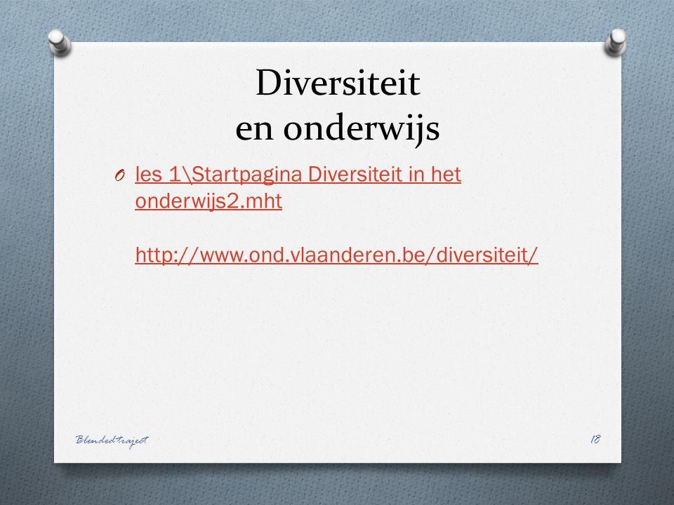 Diversiteit en onderwijs