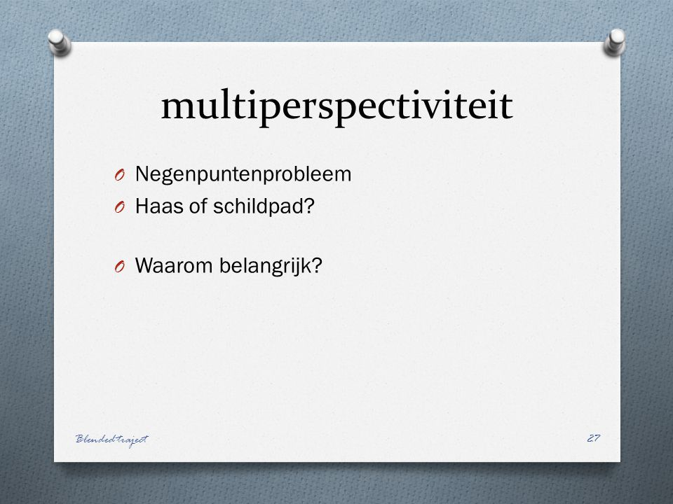 multiperspectiviteit