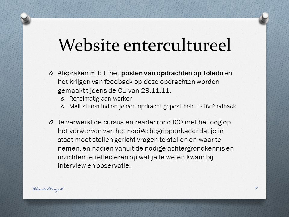 Website entercultureel