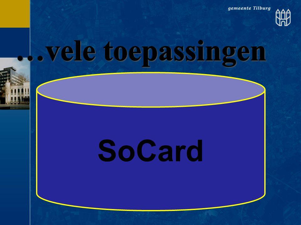 …vele toepassingen SoCard SoCard GHOR Cursus Portalen wijzer Ouderen