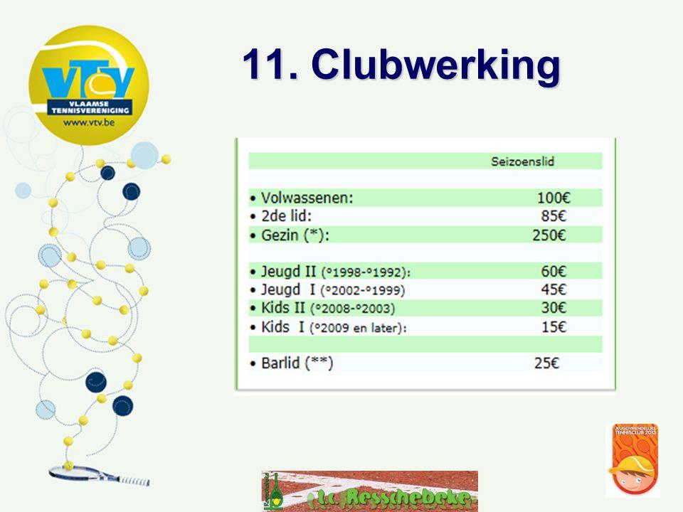 11. Clubwerking