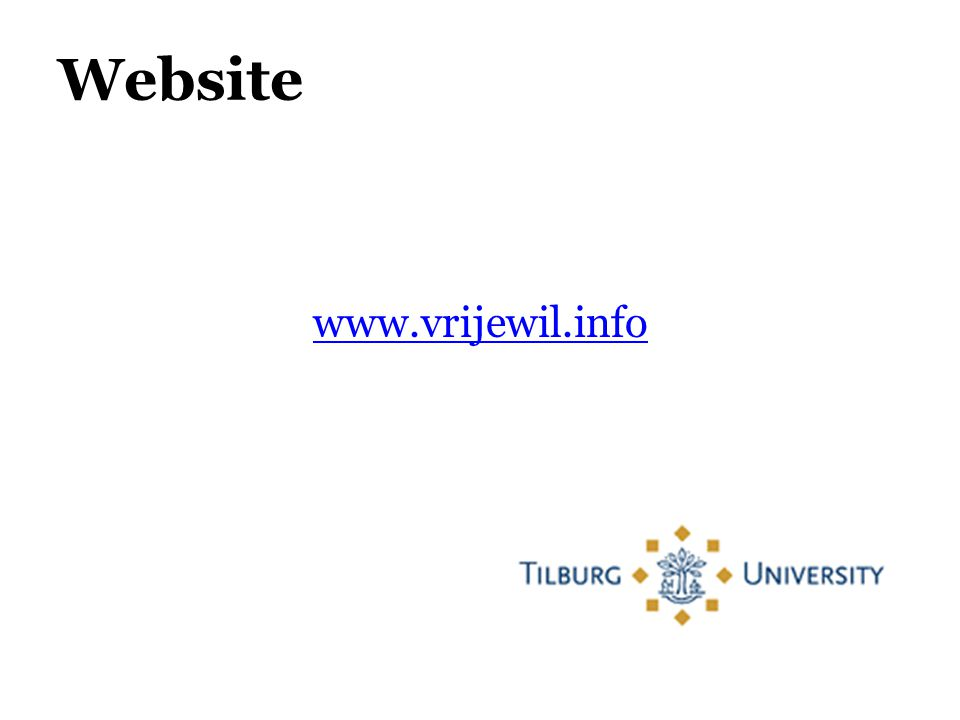 Website www.vrijewil.info