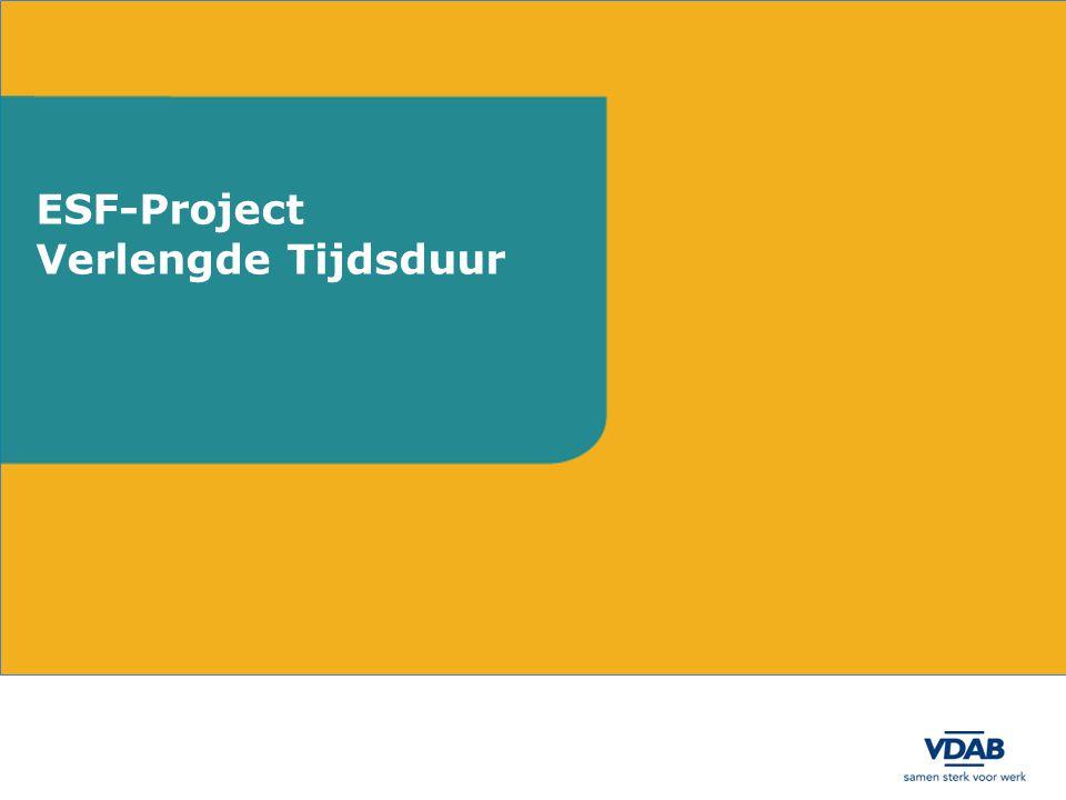 ESF-Project Verlengde Tijdsduur