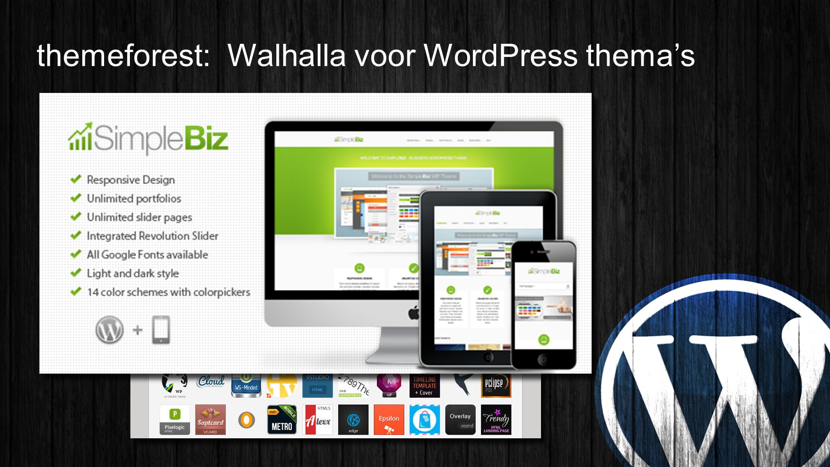 themeforest: Walhalla voor WordPress thema's