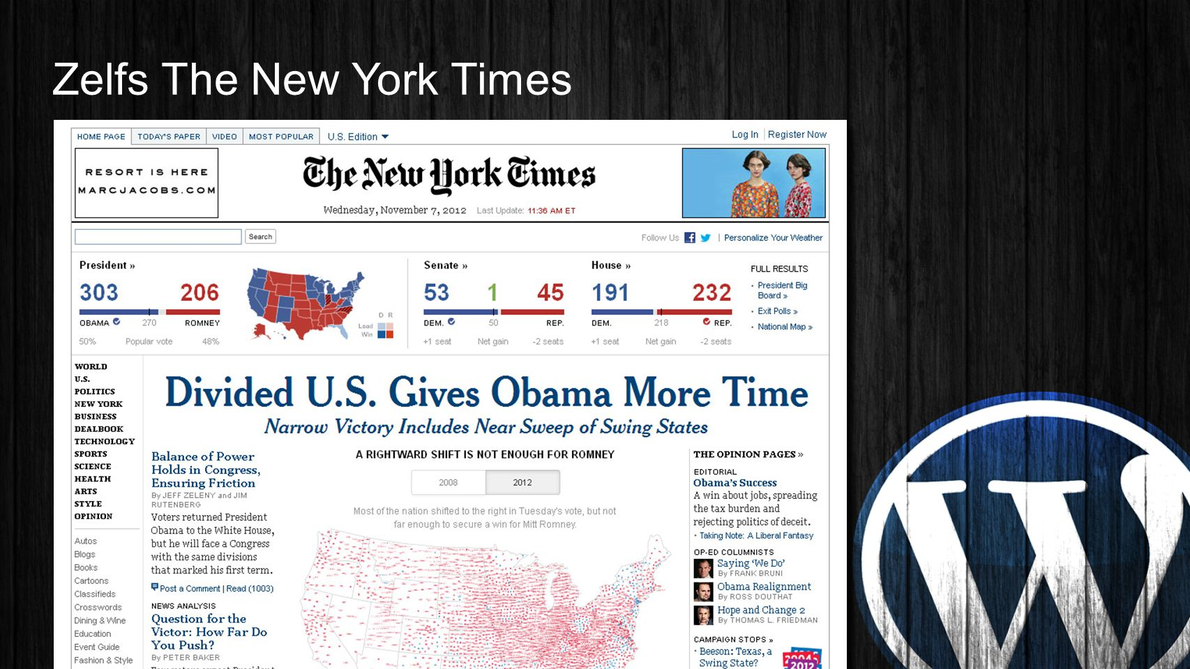 Zelfs The New York Times
