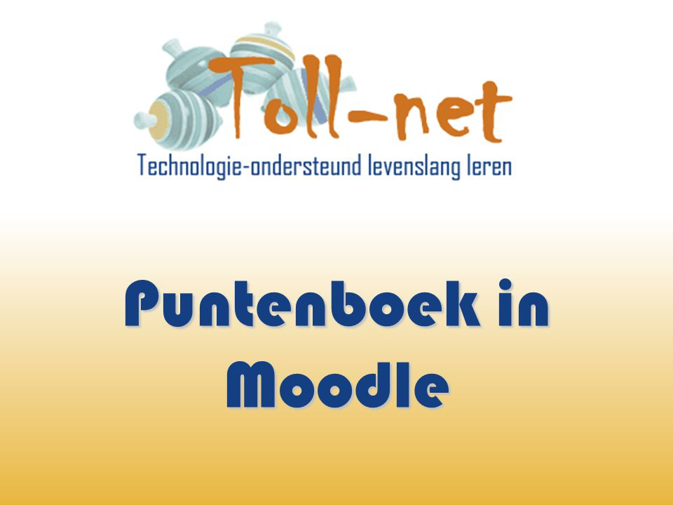 Puntenboek in Moodle