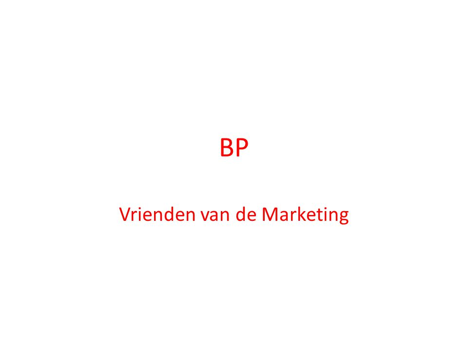 Vrienden van de Marketing