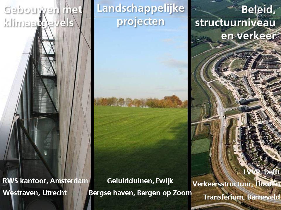 Landschappelijke projecten Bergse haven, Bergen op Zoom