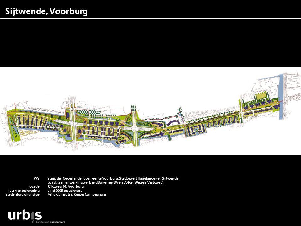 Sijtwende, Voorburg PPS locatie jaar van oplevering stedenbouwkundige