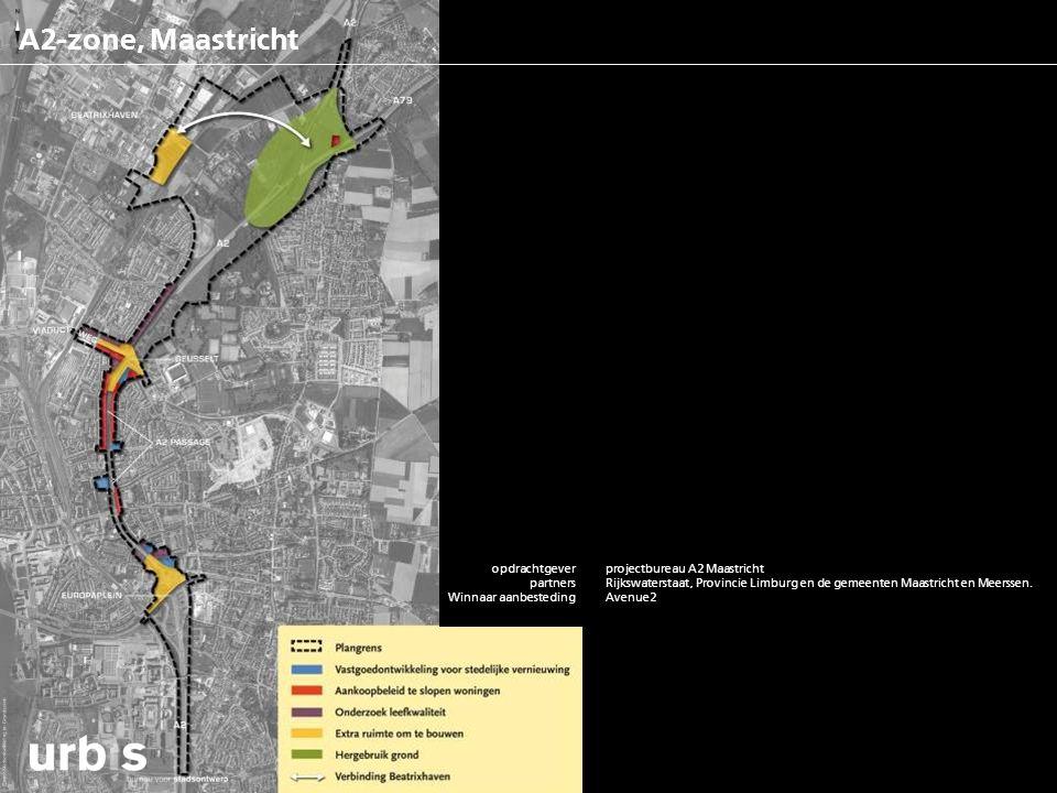 A2-zone, Maastricht opdrachtgever partners functies