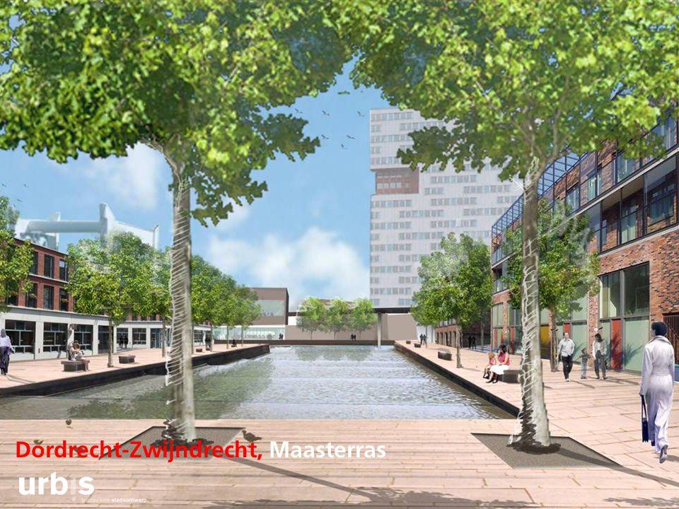 Dordrecht-Zwijndrecht, Maasterras