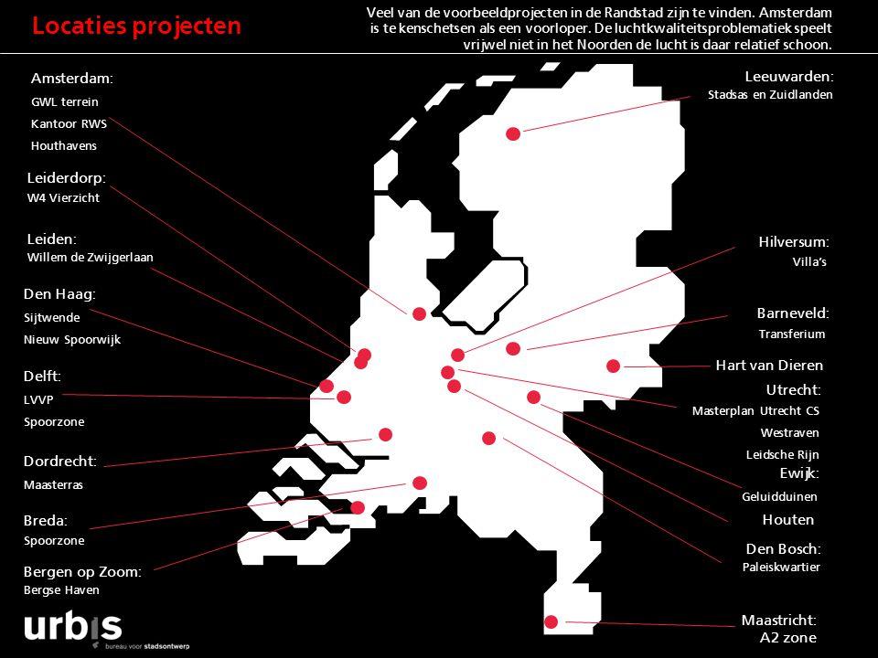 Locaties projecten Amsterdam: Leeuwarden: Leiderdorp: Leiden: