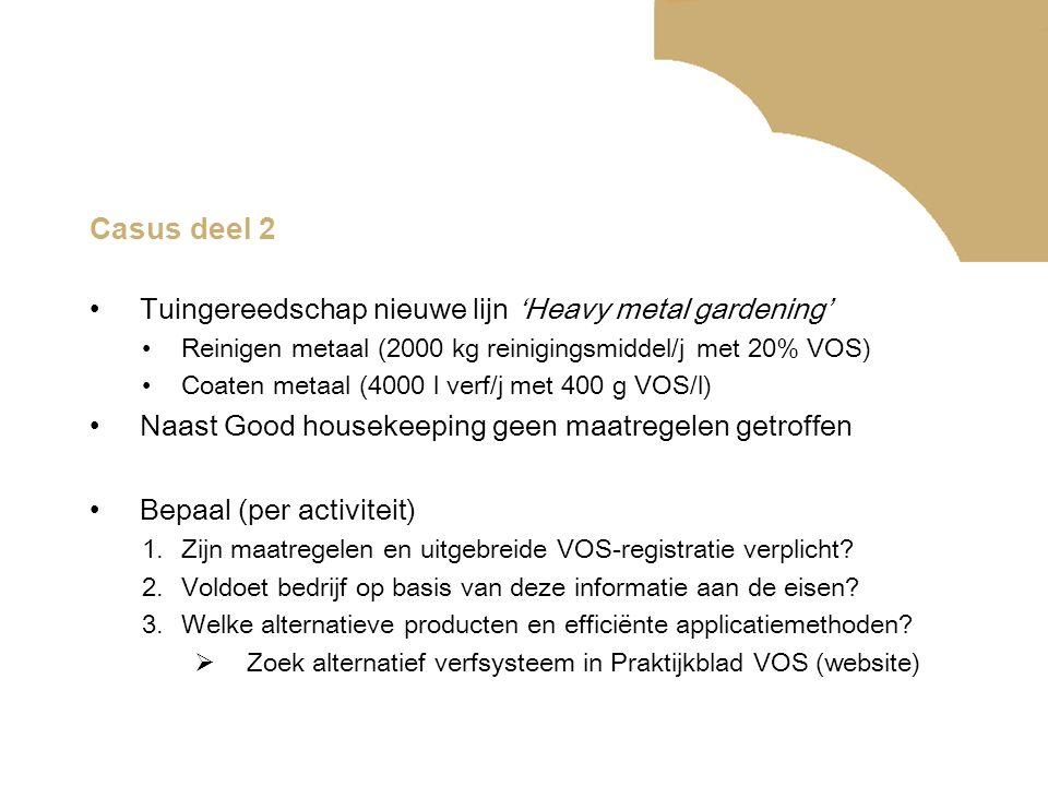 Casus deel 2 Tuingereedschap nieuwe lijn 'Heavy metal gardening'