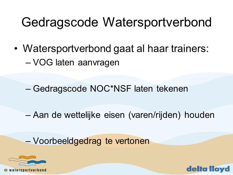 Gedragscode Watersportverbond