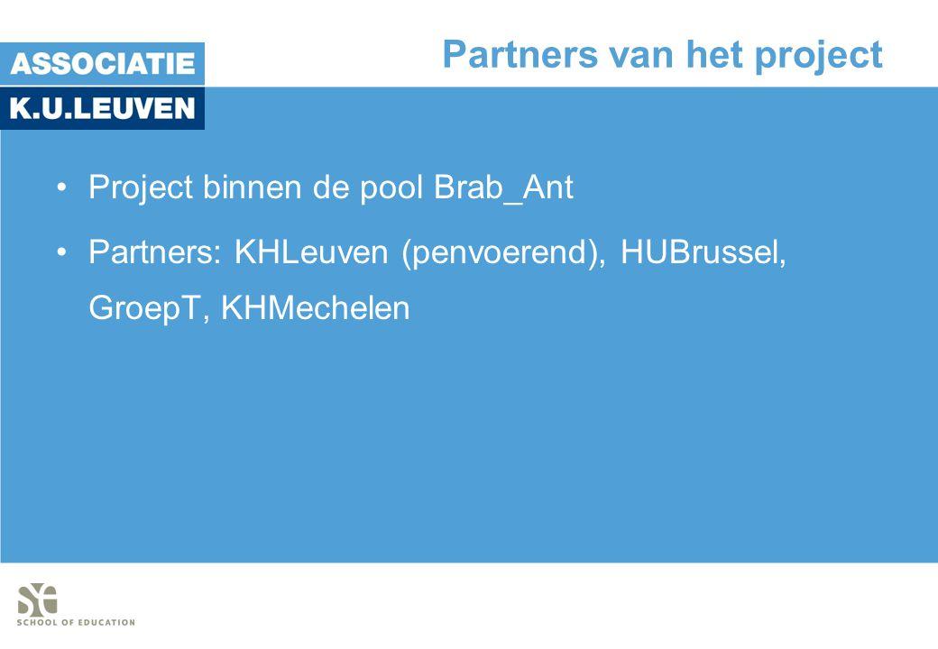 Partners van het project