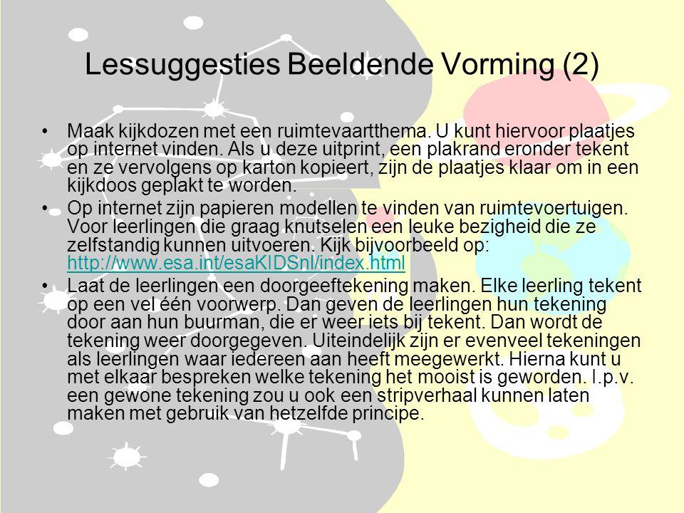 Lessuggesties Beeldende Vorming (2)