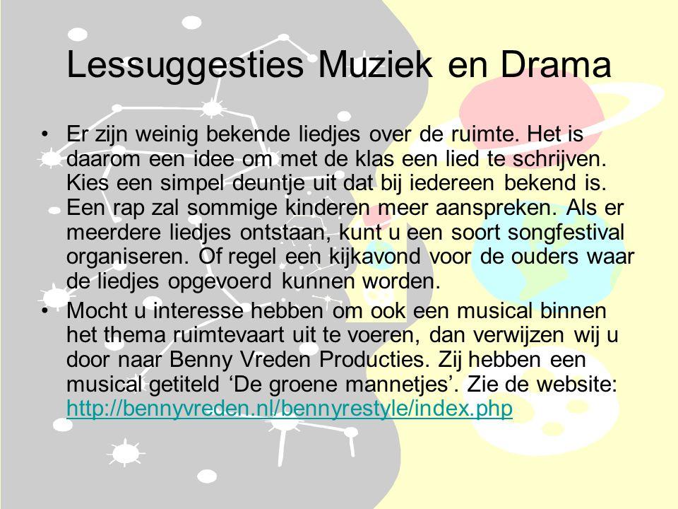 Lessuggesties Muziek en Drama