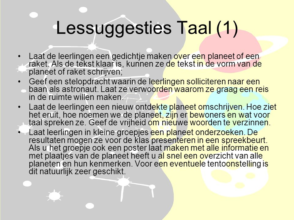 Lessuggesties Taal (1)