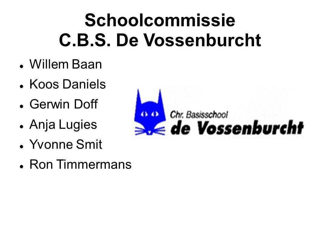 Schoolcommissie C.B.S. De Vossenburcht