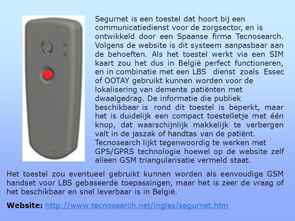 Segurnet is een toestel dat hoort bij een