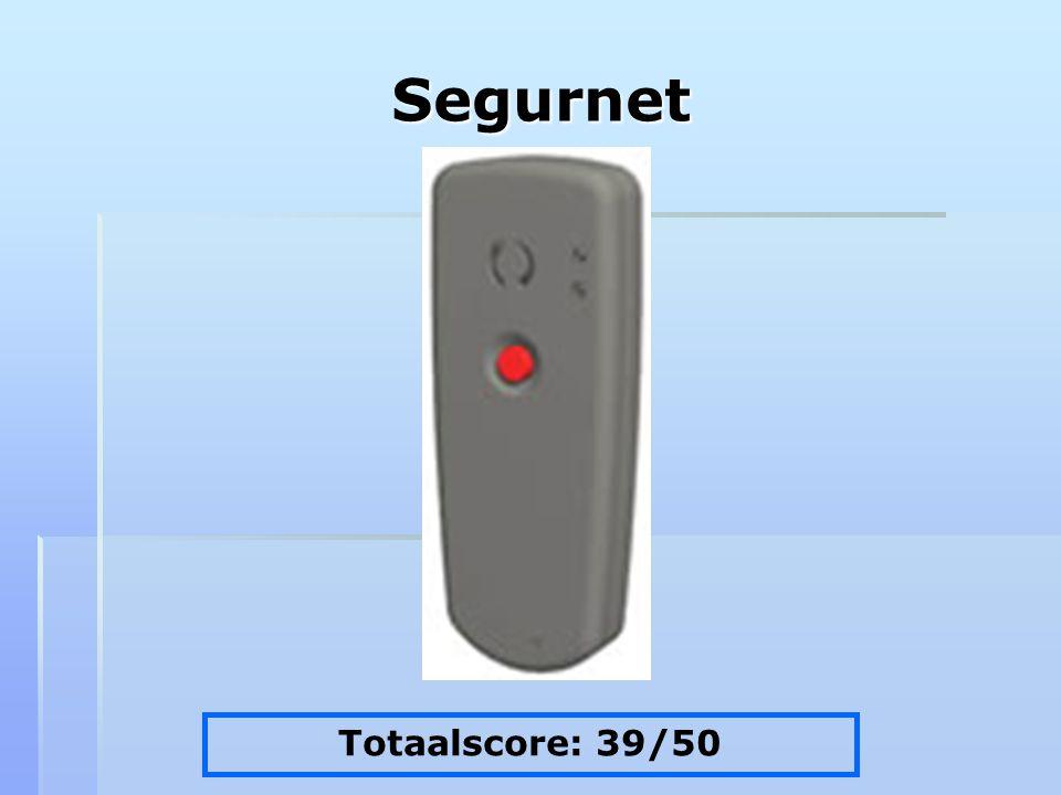 Segurnet Totaalscore: 39/50