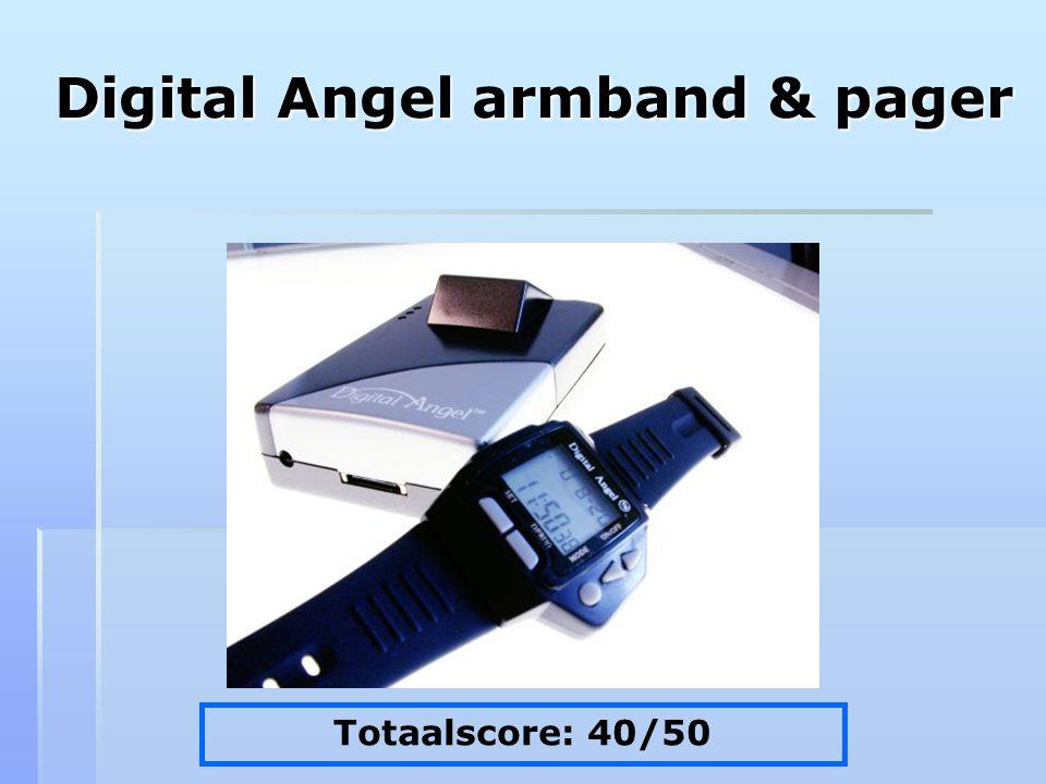 Digital Angel armband & pager