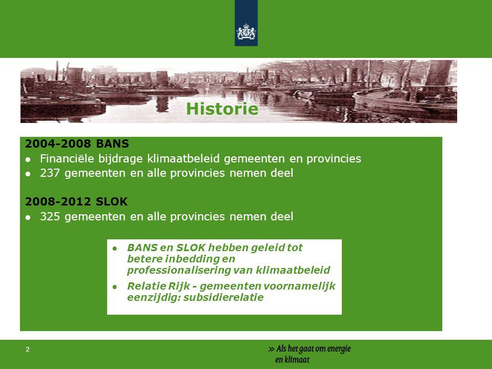 Historie Historie 2004-2008 BANS