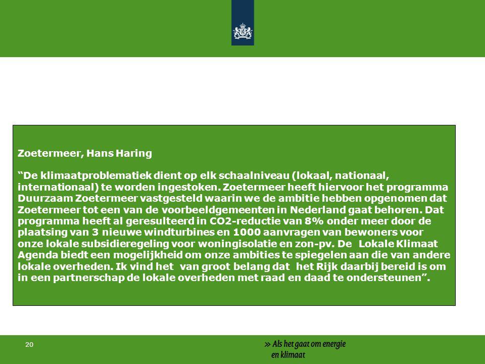 Zoetermeer, Hans Haring