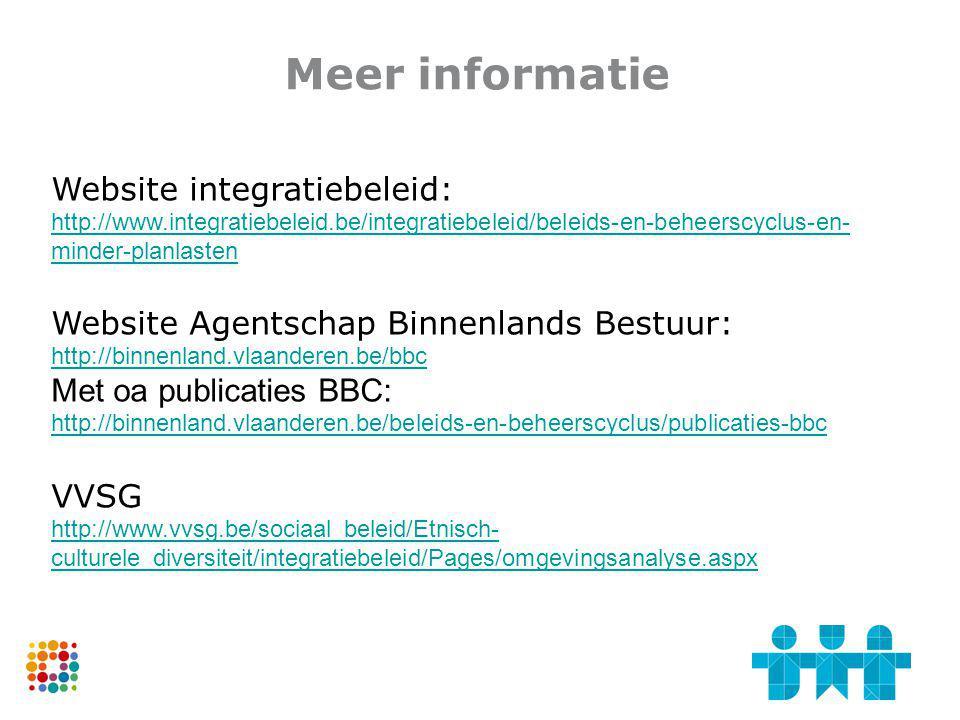 Meer informatie Website integratiebeleid: http://www.integratiebeleid.be/integratiebeleid/beleids-en-beheerscyclus-en-minder-planlasten.