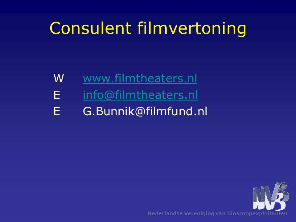 Consulent filmvertoning