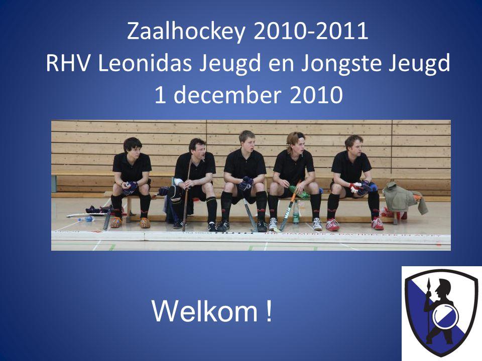 Zaalhockey 2010-2011 RHV Leonidas Jeugd en Jongste Jeugd 1 december 2010