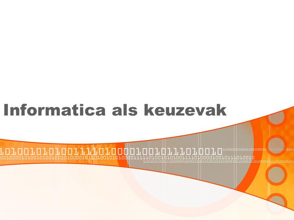 Informatica als keuzevak