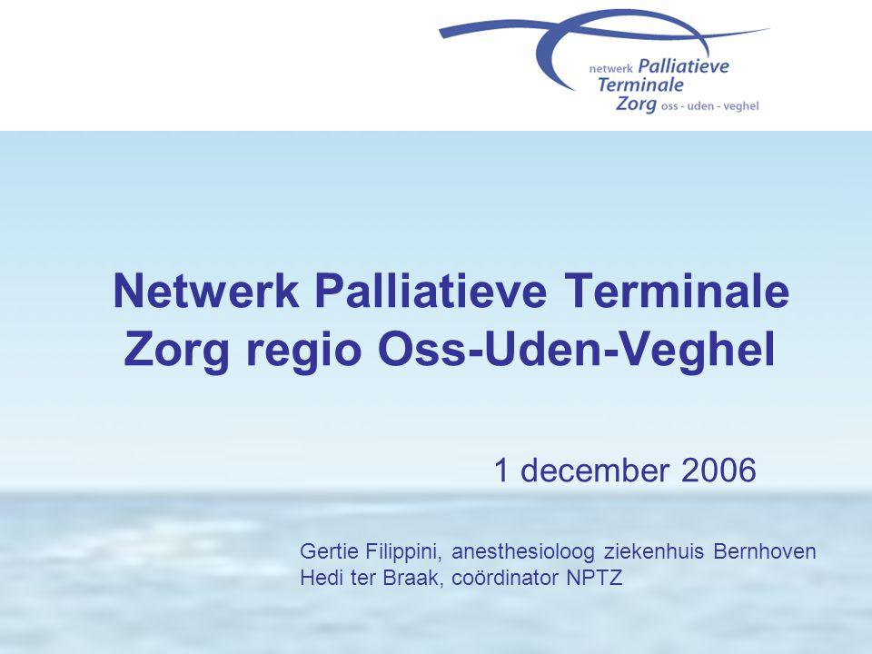 Netwerk Palliatieve Terminale Zorg regio Oss-Uden-Veghel