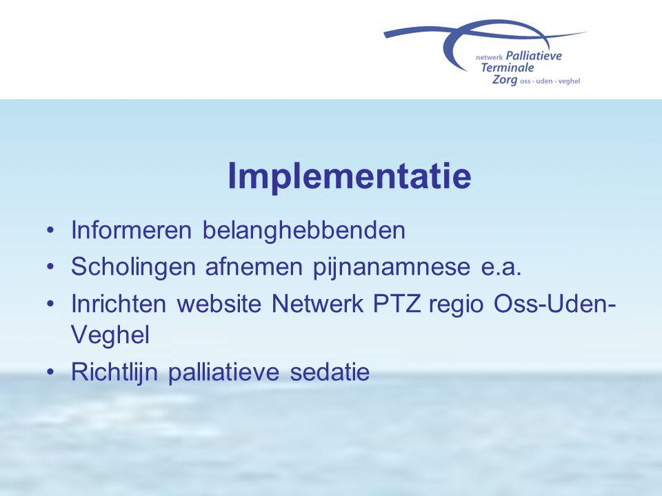 Implementatie Informeren belanghebbenden