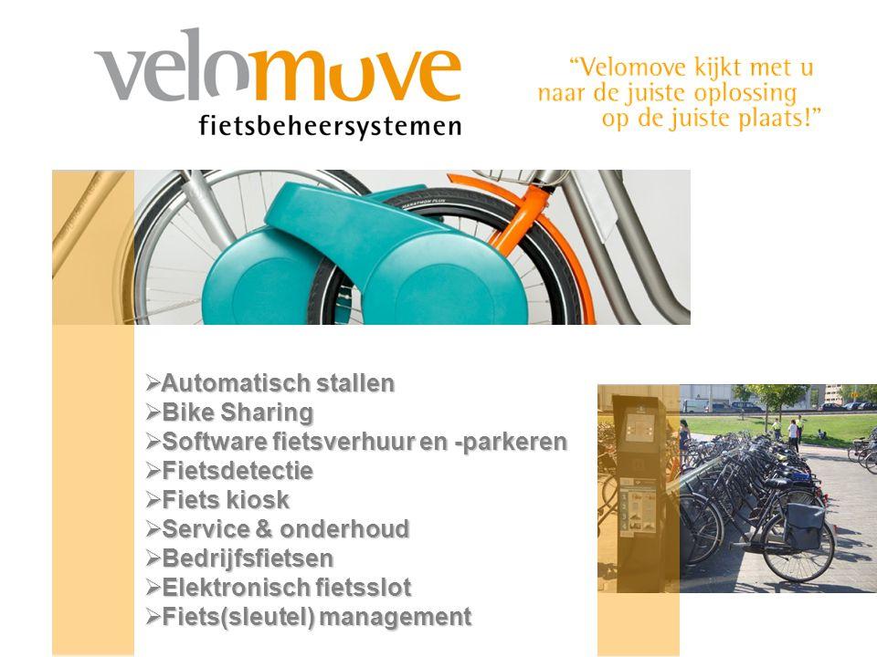 Automatisch stallen Bike Sharing. Software fietsverhuur en -parkeren. Fietsdetectie. Fiets kiosk.