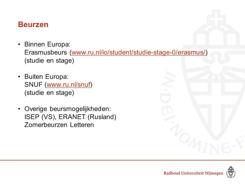 Beurzen Binnen Europa: