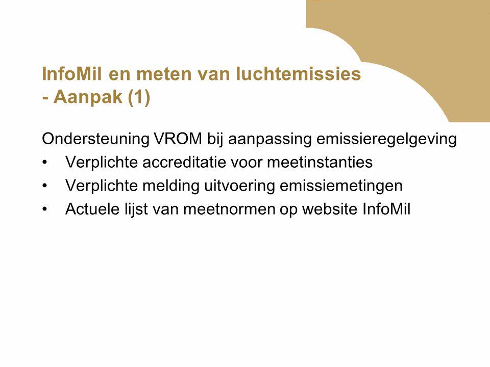 InfoMil en meten van luchtemissies - Aanpak (1)