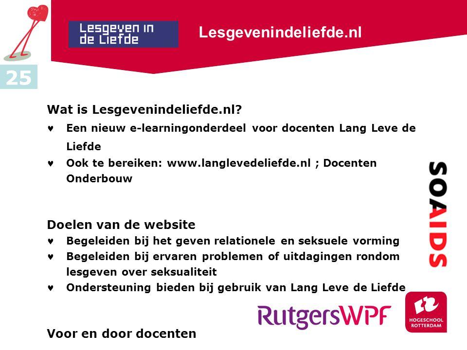 25 Lesgevenindeliefde.nl Wat is Lesgevenindeliefde.nl