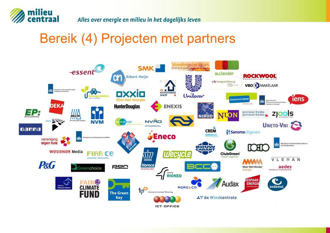 Bereik (4) Projecten met partners