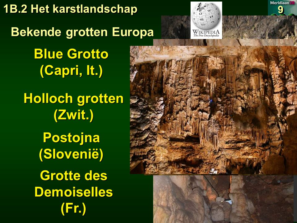 Bekende grotten Europa Grotte des Demoiselles