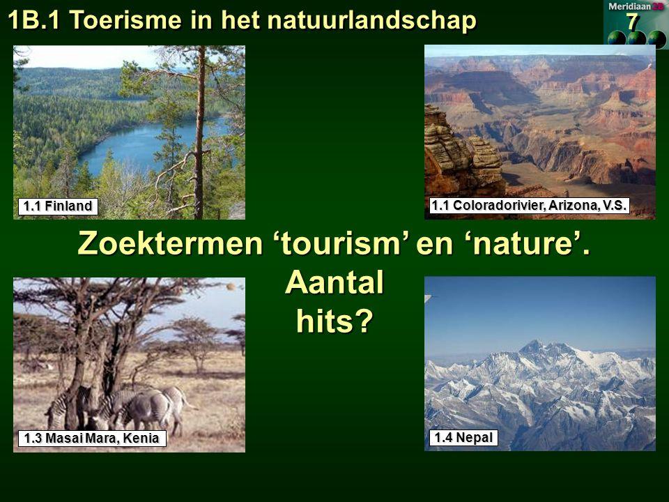 1.1 Coloradorivier, Arizona, V.S. Zoektermen 'tourism' en 'nature'.
