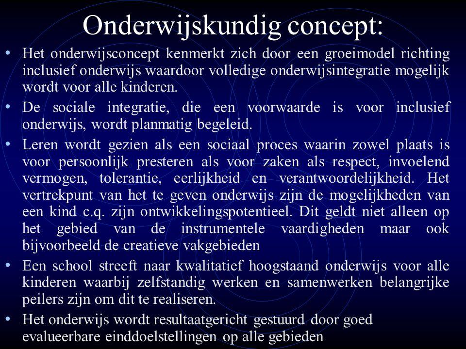 Onderwijskundig concept: