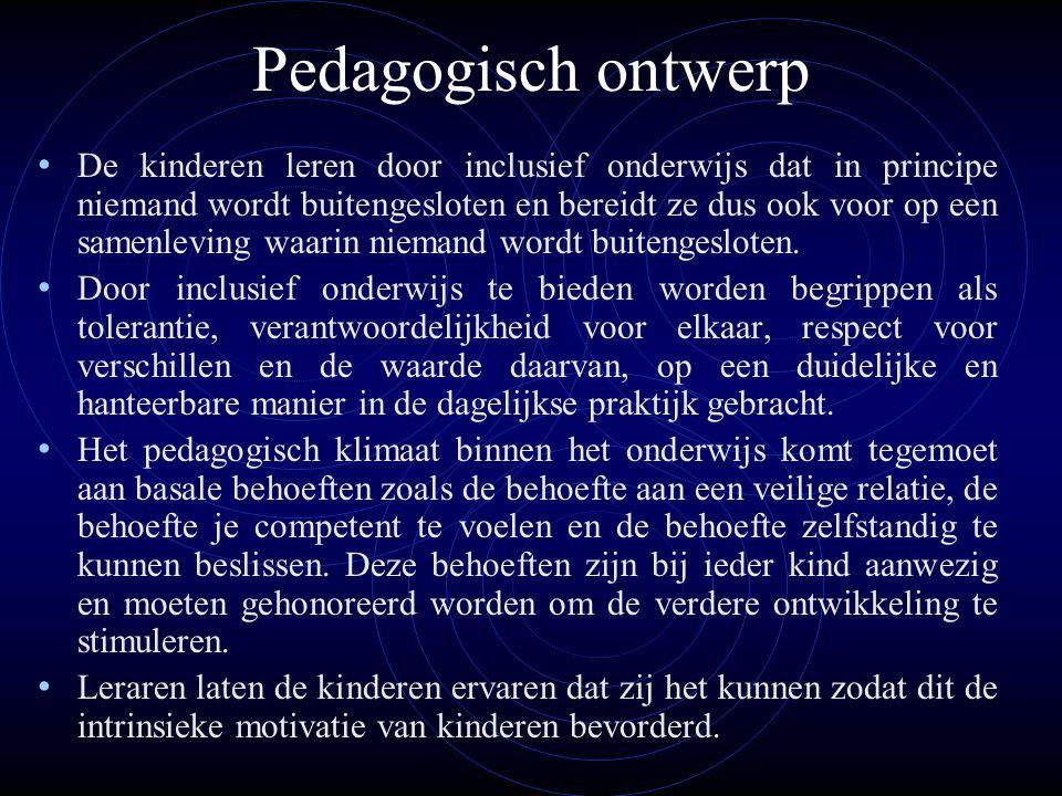 Pedagogisch ontwerp