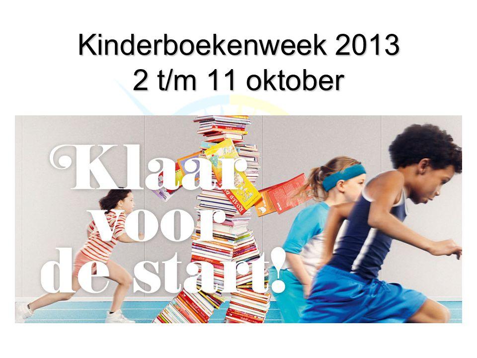 Kinderboekenweek 2013 2 t/m 11 oktober